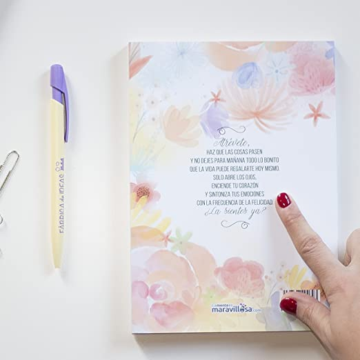 La mente es maravillosa-Agenda ANUAL 2018- ENERO-DICIEMBRE-Diseño Semana Vista