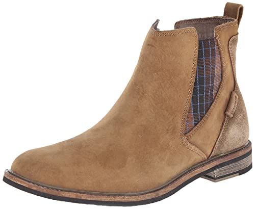 Mark Nason Los Angeles Dagger Collection Men's Rangpuk Chelsea Boot, Desert,  ...