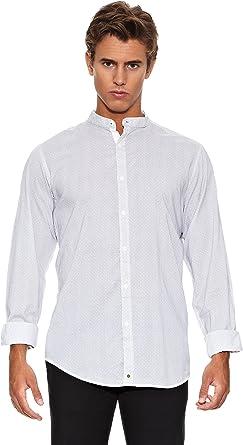 Springfield Camisa Mao Micro M/L Gris XL: Amazon.es: Ropa y accesorios