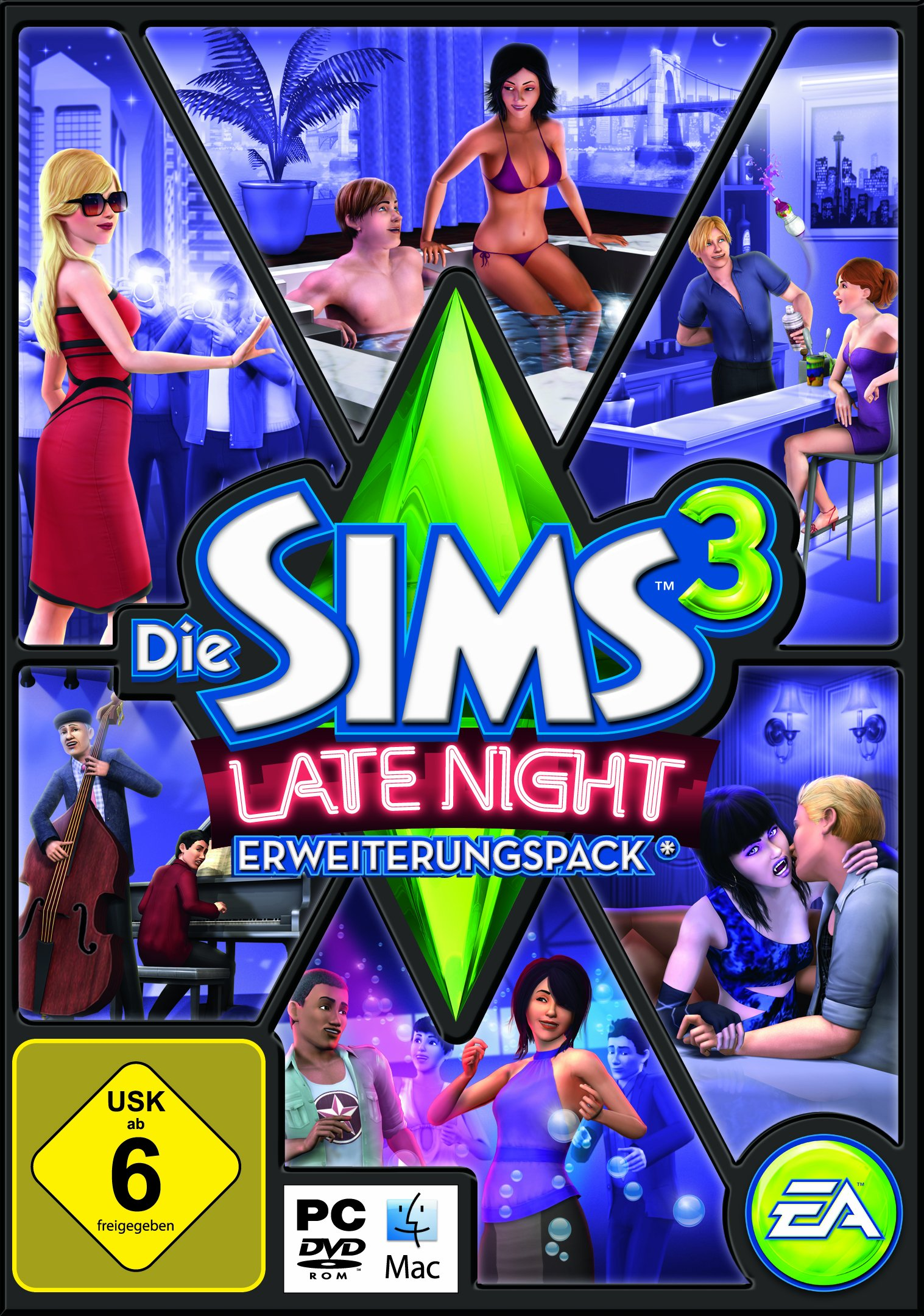 Die Sims 3: Late Night product image