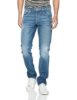 d3c9be26488 Amazon.com: Hudson Jeans Men's Blake Slim Straight Jeans, Aim, 31 ...