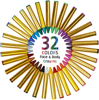 Amazon.com: Face Painting Sticks 12 Color Set -Long Lasting Twist ...