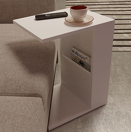 Homidea BONO Tavolino basso da salotto con ruote - materiale in ...