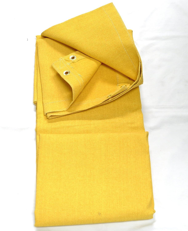Tillman 590B66 6X6 24oz Gold Acrylic Fiberglas Blanket