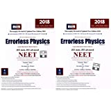 Errorless Physics for JEE Main, JEE Advanced, NEET (Set of 2 Volume) 2018 Edition by Universal Book Depot 1960