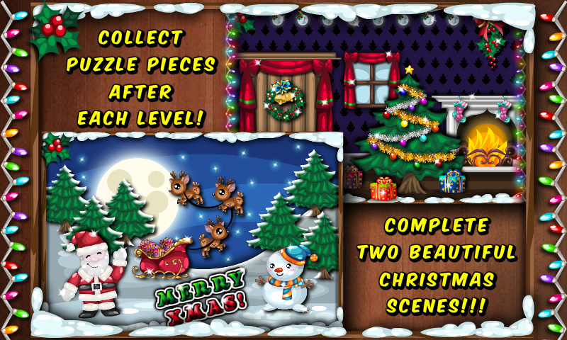 amazoncom christmas holiday solitaire tripeaks and pyramid card game fun appstore for android - Solitaire Christmas