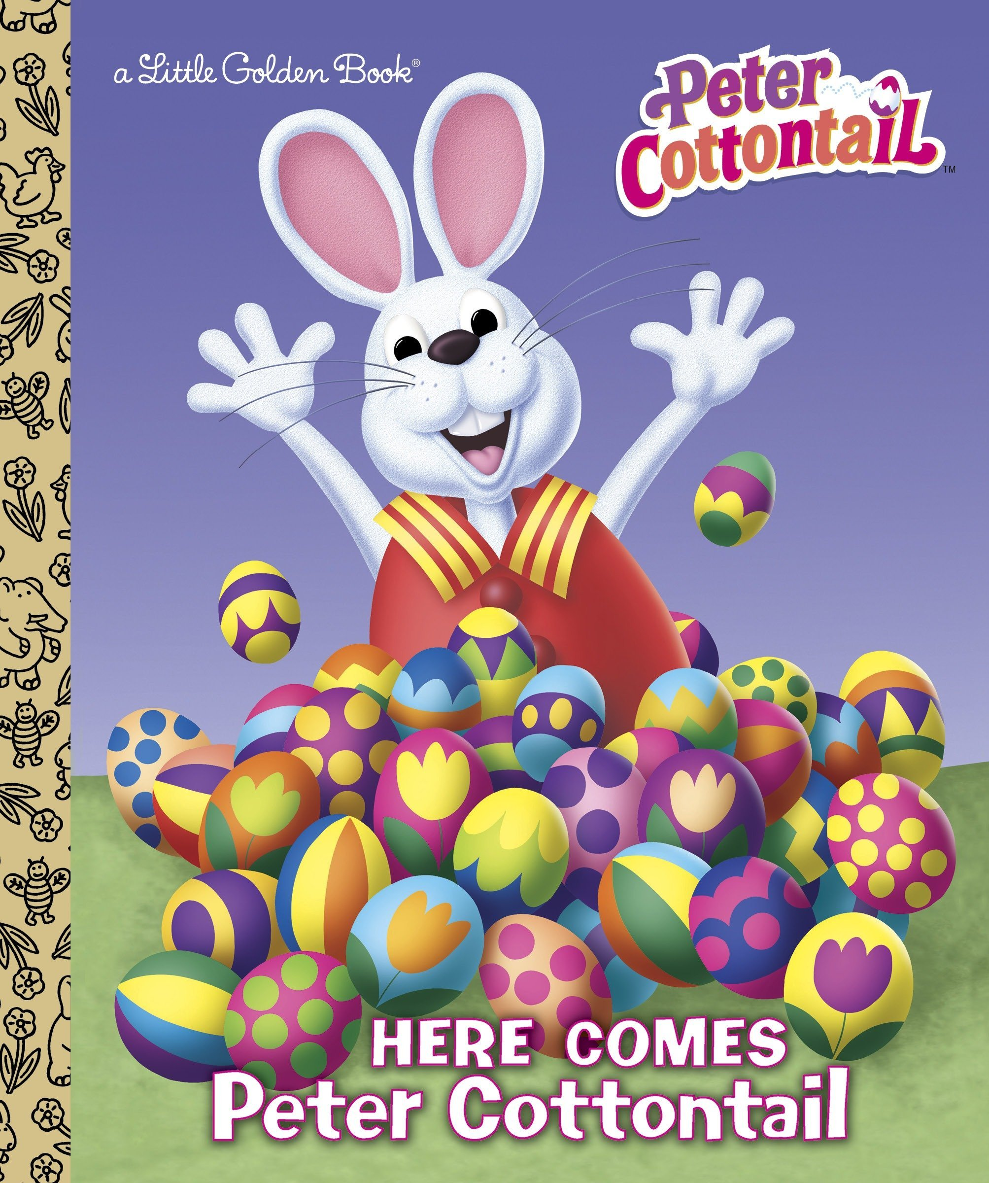 Download Here Comes Peter Cottontail Little Golden Book (Peter Cottontail) ebook