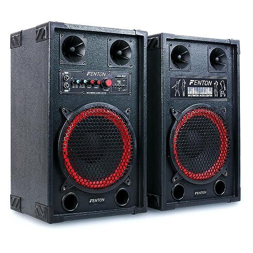 31 opinioni per Fenton SPB-10 Set altoparlanti coppia altoparlanti diffusori attivo / passivo