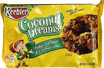 4-Pack Keebler Fudge Shoppe 8.5 Ounce Coconut Dreams Cookies