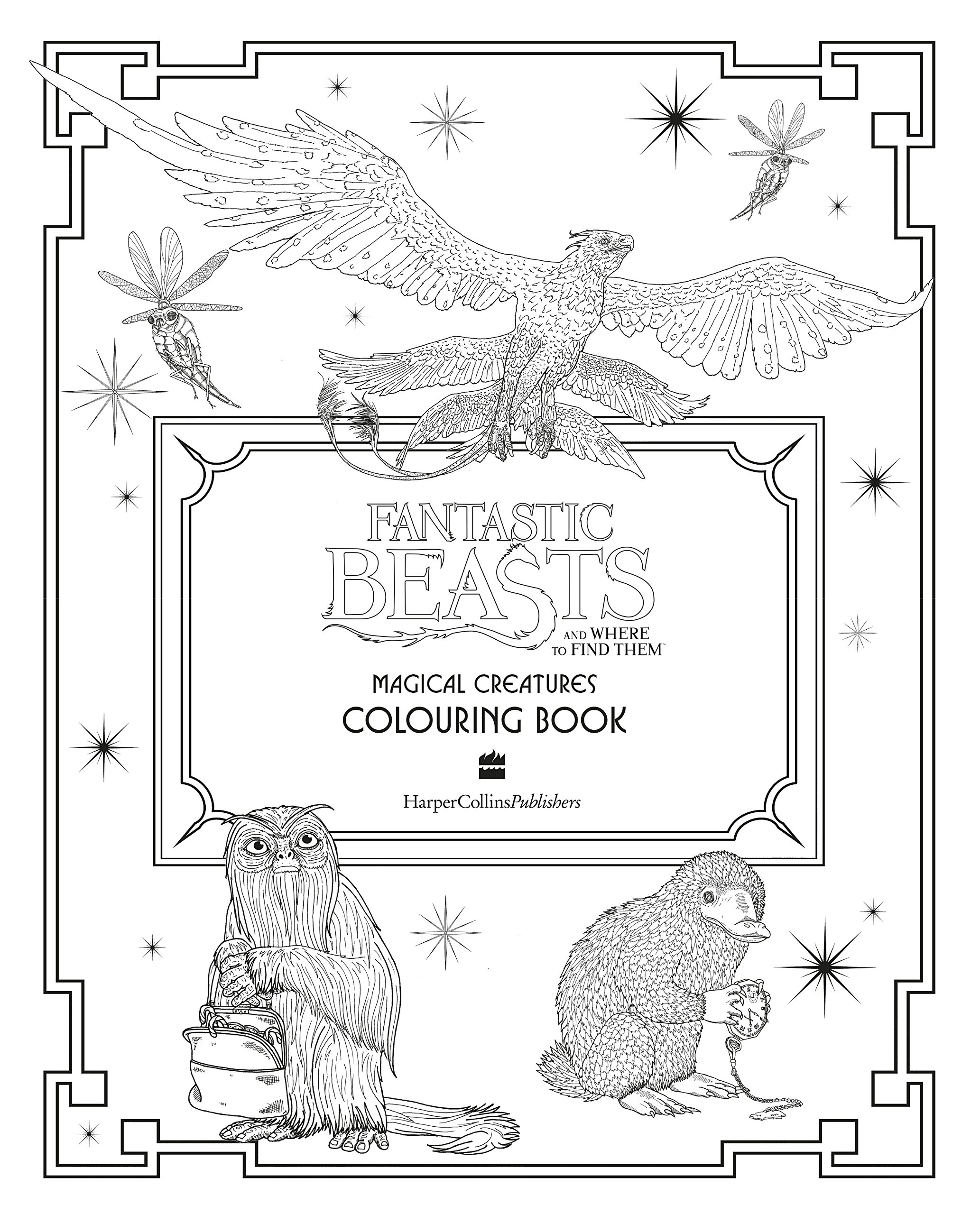 Colouring Harry Potter's magical creatures: a guide to colouring ... | 2560x2066