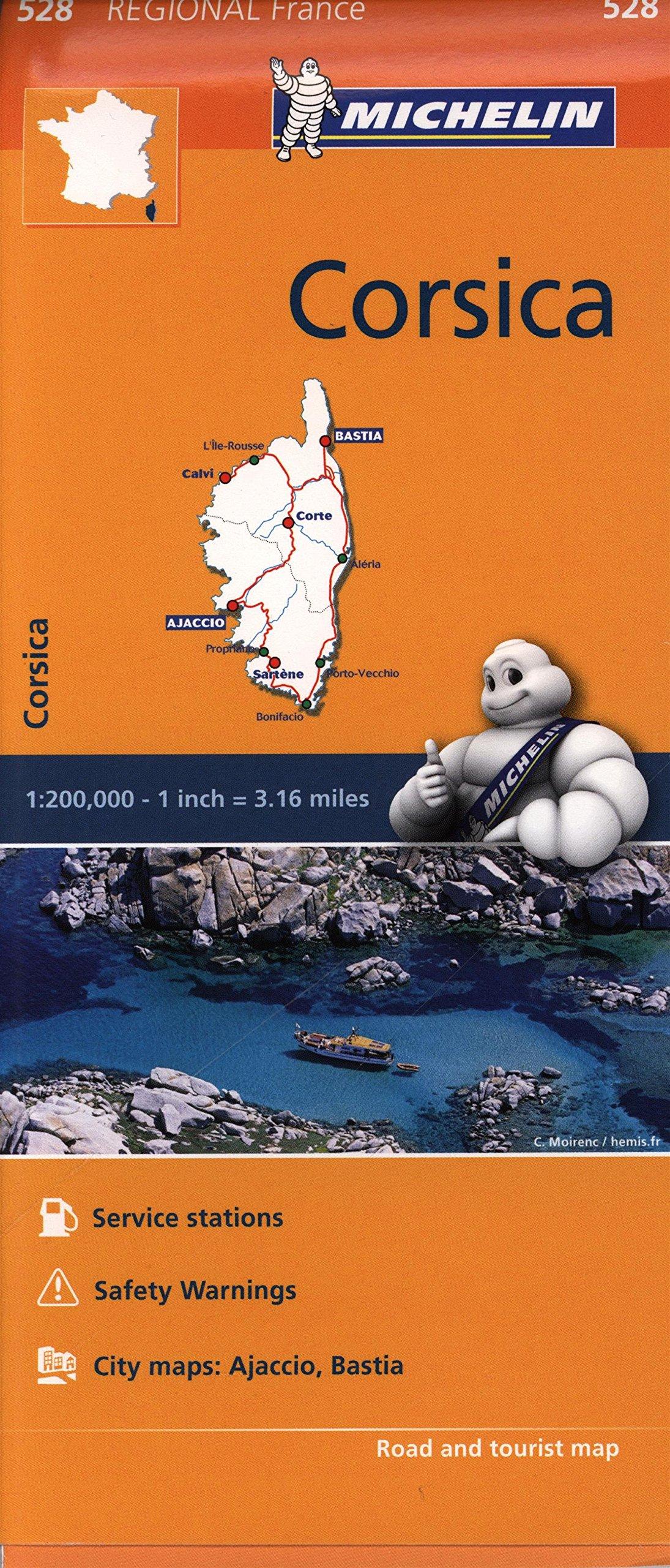 Mapa Regional Corsica (Carte regionali) (Inglés) Mapa – Mapa doblado, 5 ago 2016 Vv.Aa 2067211862 France Europe - France
