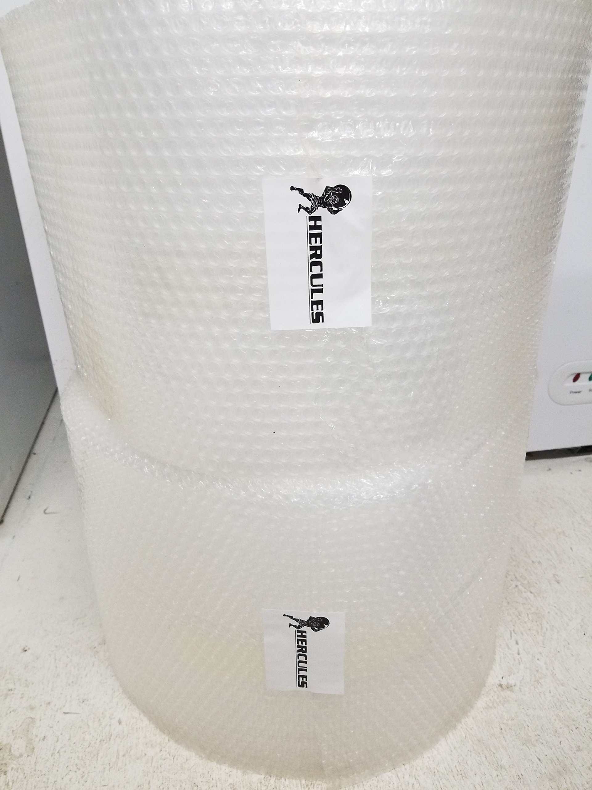 HERCULES Packaging 3/16 500ft x 12'' Small Bubble wrap Cushioning Wrap