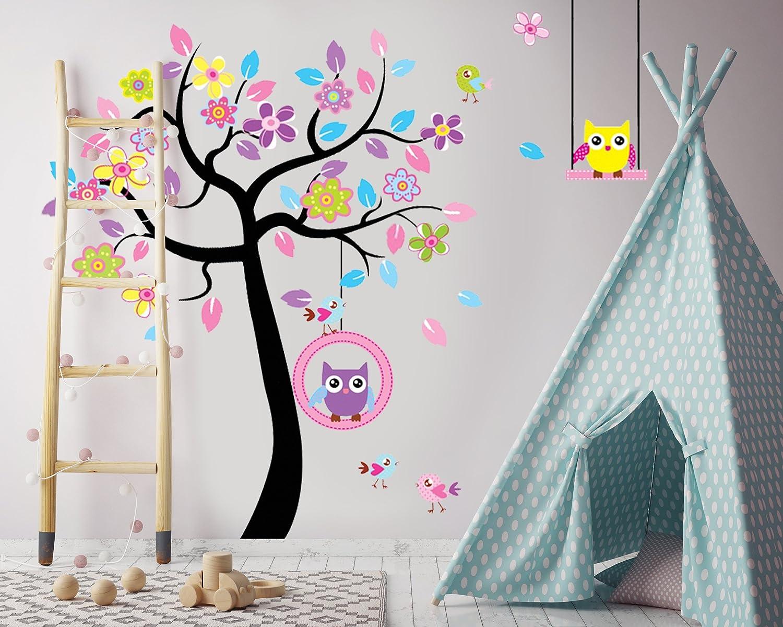 Wandtattoo Wandaufkleber Wandsticker Kinderzimmer Tiere Affe