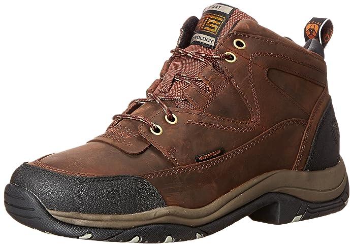 best lightweight hiking shoes Ariat Men's Terrain H2O Hiking Boot Copper