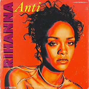 Rihanna ANTI Poster Decor Gift