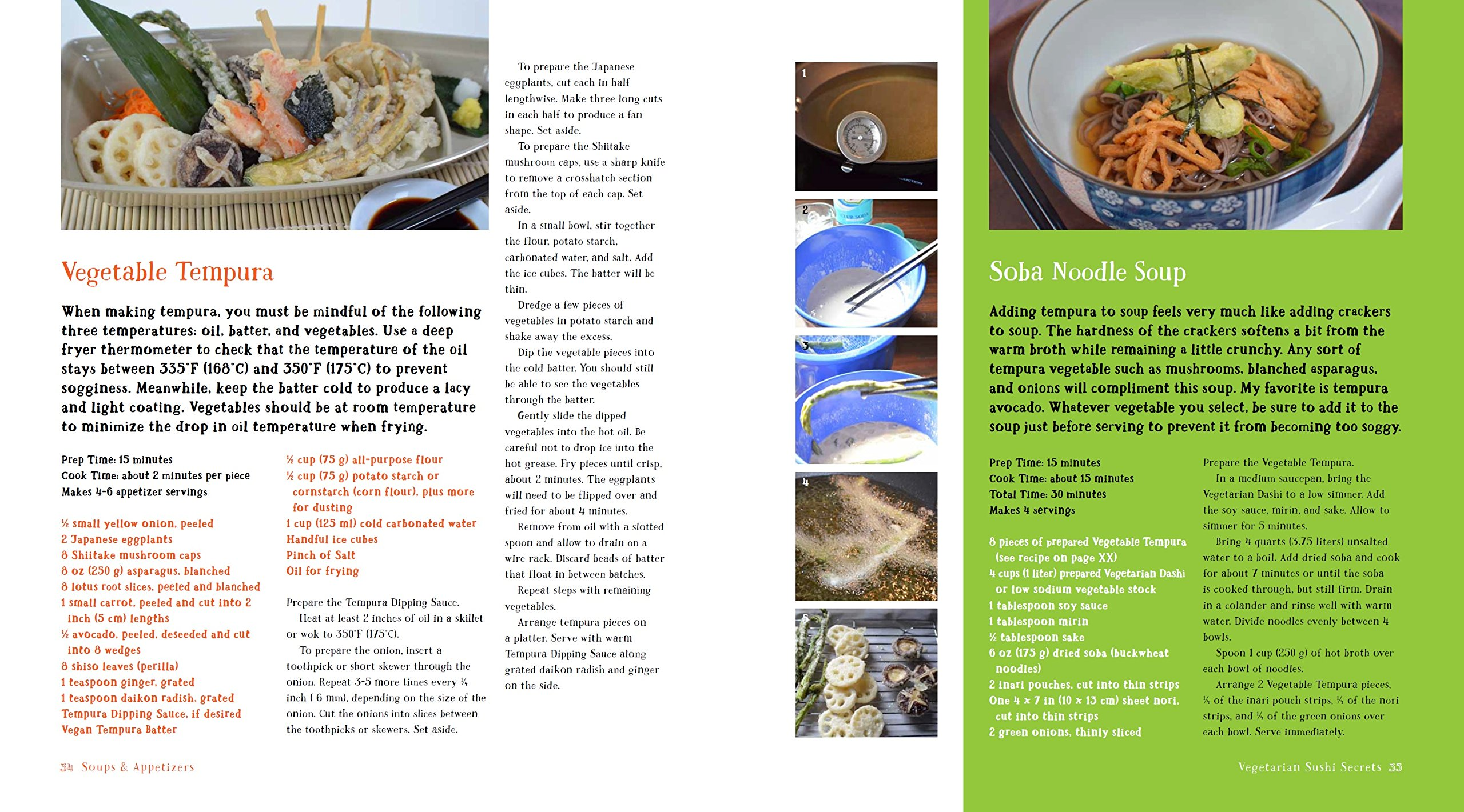 Vegetarian Sushi Secrets: 101 Healthy and Delicious Recipes: Marisa ...