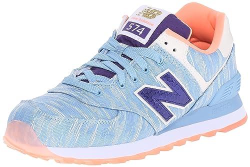 New Balance Women s WL574 Summer Waves Running Shoe