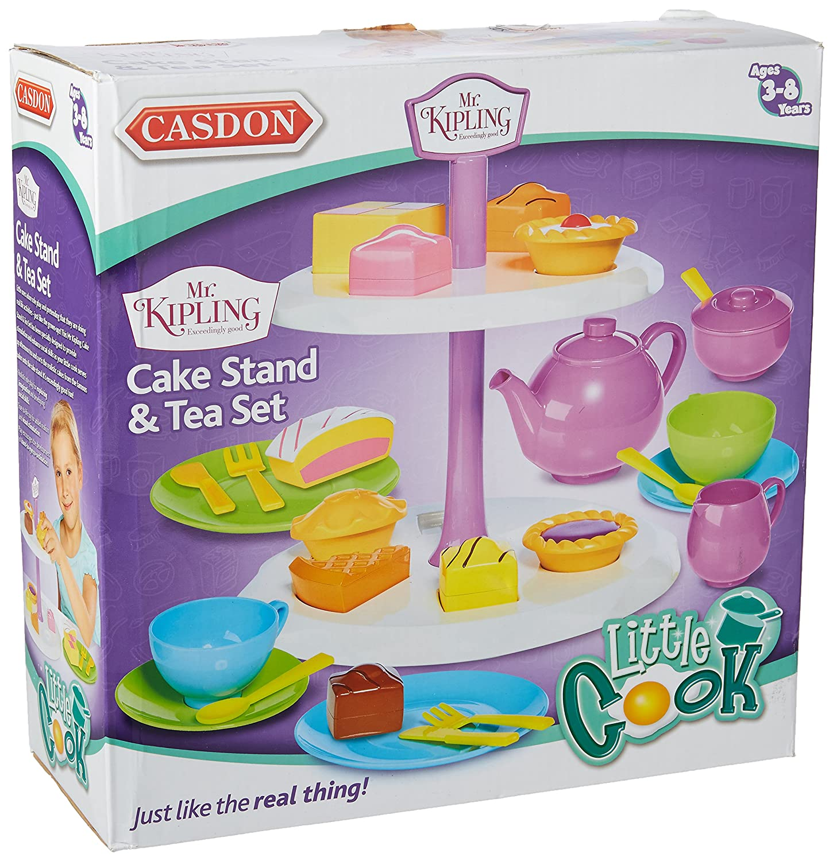 Casdon 685 Mr Kipling Afternoon Tea Set Multi Coloured