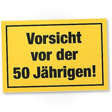 DankeDir!. Vorsicht Antes de 50 años, plástico Cartel - 50 ...