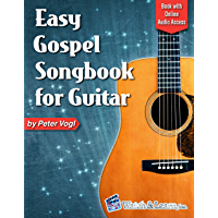 Easy Gospel Songbook for Guitar: Book with Online Audio Access book cover
