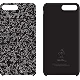 Keith Haring Collection PU Case for iPhone 7 Plus (People/Black x White)