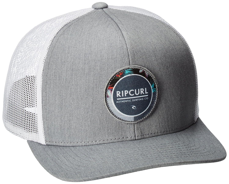 Rip Curl Hombres Gorra de béisbol - Gris -: Amazon.es: Ropa y ...