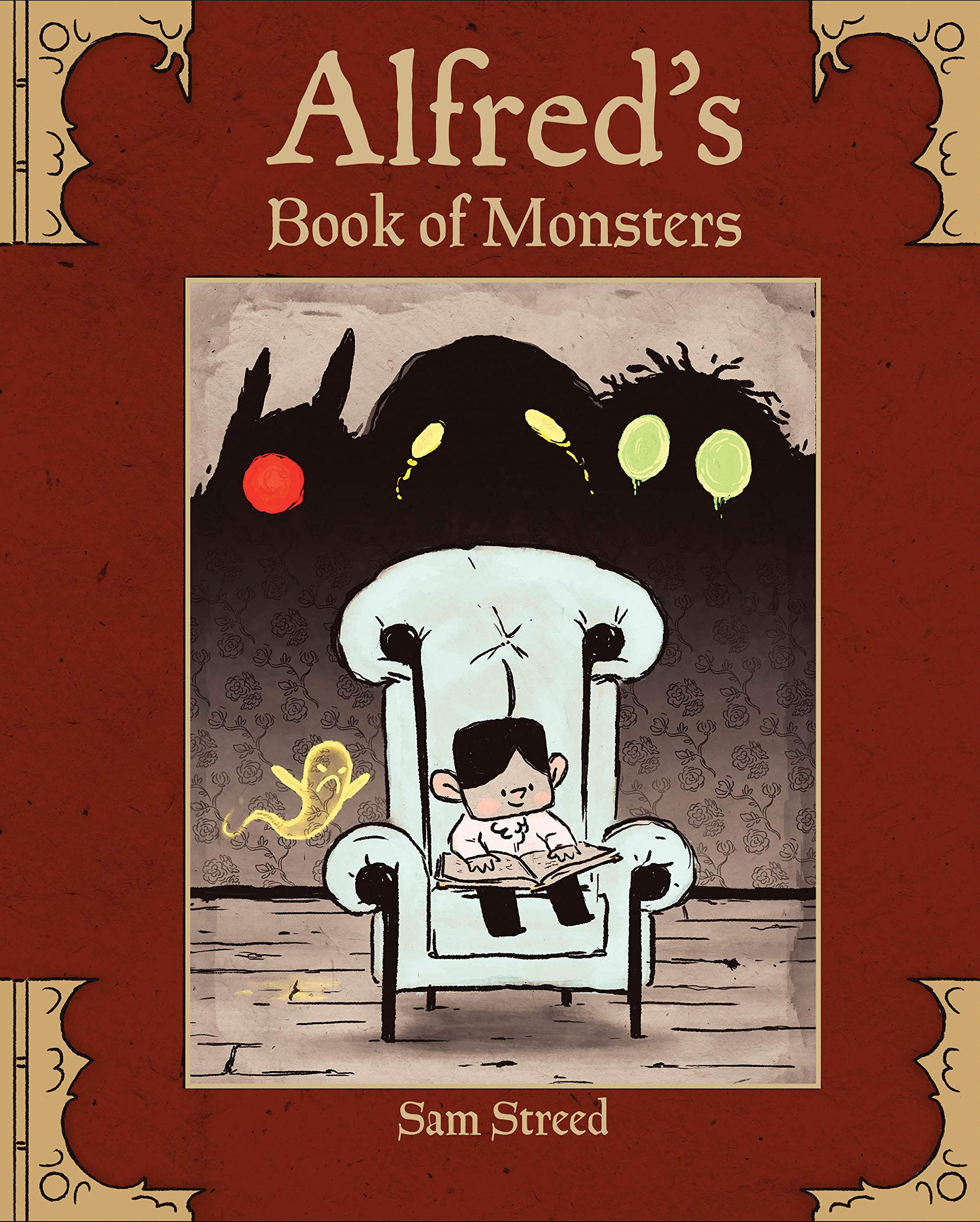 Image result for alfred's book of monsters