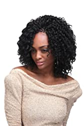 Biba-Soft Dred Braid-Natural Hair- Crochet Hair Braid-[2PACKS DEAL] (F/FL (1B/350))