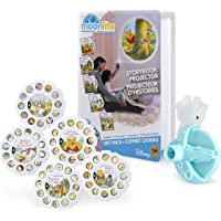 Moonlite 6052484, Winnie the Pooh Gift Pack with Storybook Projector for Smartphones and 5 Story Reels