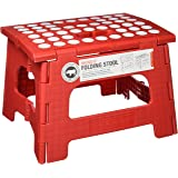 Kikkerland Rhino II Step Stool, Red