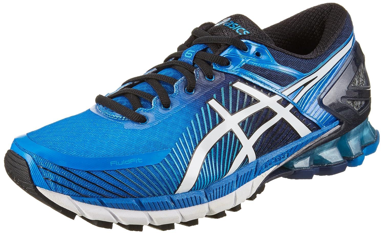 Asics Gel-Kinsei 6, Zapatillas de Entrenamiento Para Hombre 49 EU|Azul (Electric Blue/Off White/Island Blue 4200)