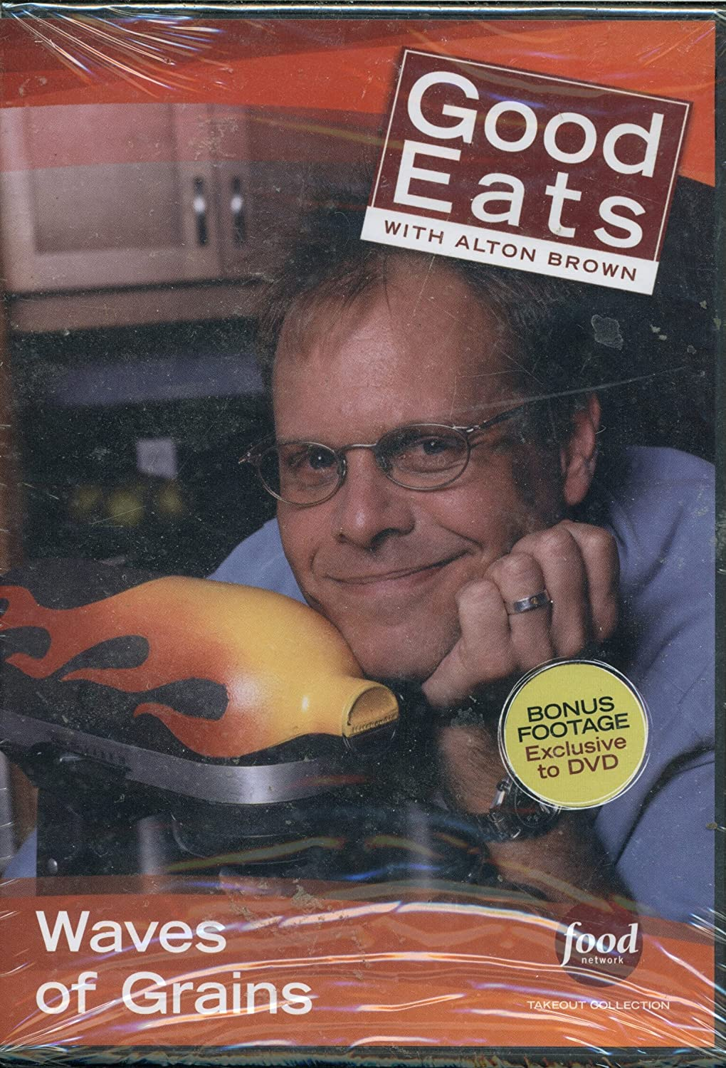 Food Network Takeout Collection DVD - Good Eats With Alton Brown Waves of Grain Includes True Grits / Gotten Grains 3 / Power to the Pilaf