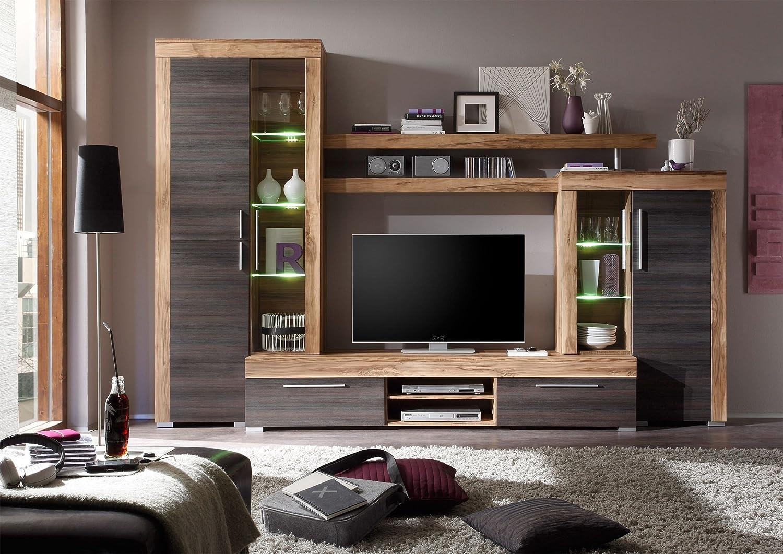 Homely Mueble de salón Modular Mallorca de 296 cm.con ...