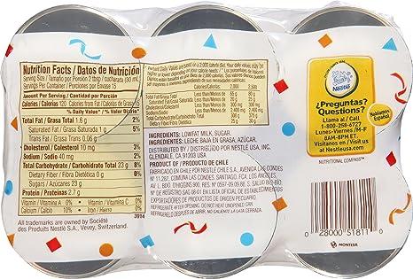 Amazon.com : La Lecherita Lowfat Sweetened Condensed Milk, 6 ct, 21 oz : Sweetened Condensed Milk : Grocery & Gourmet Food