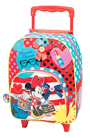 Minnie Mouse Mochila Carro 35 X 27 Cm Jaimarc M060180 Amazon