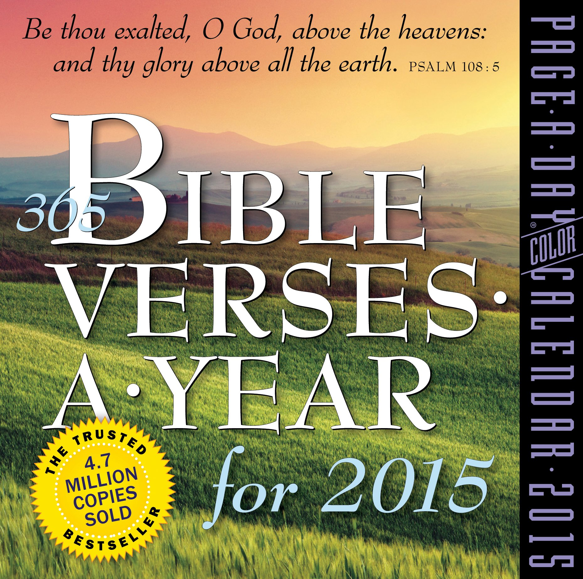 365 Bible Verses a Year 2015 Page-A-Day Calendar: Amazon.co.uk ...
