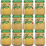 Beech-Nut Naturals Baby Food Jar Fruit Variety Pack (12 count, 4 oz jars)