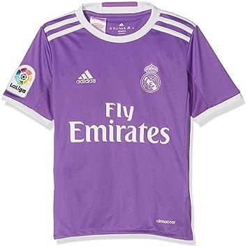 f832ed6d355cd adidas JSY Y Camiseta 2ª Equipación Real Madrid CF 2015 16