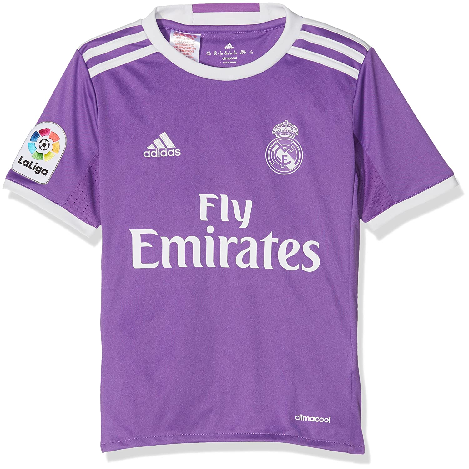 pretty nice d457a 9b403 adidas REAL A JSY Y - 2nd football kit T-Shirt for of Real madrid CF  2015/16 for Boys