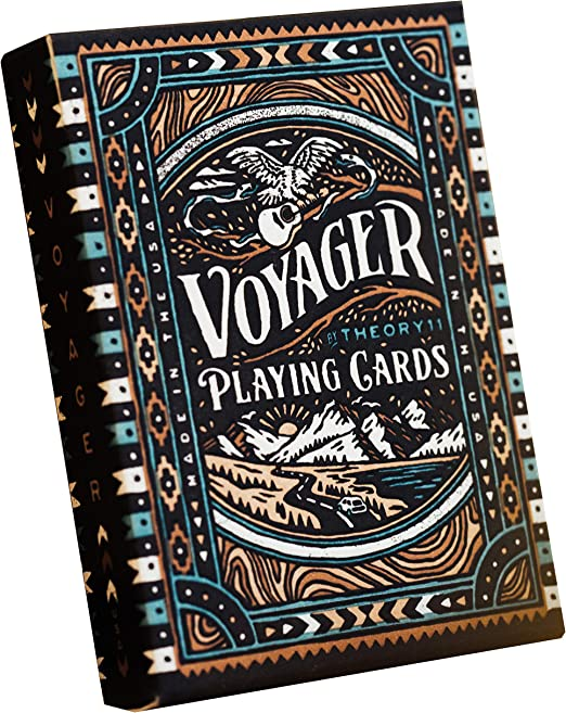 Amazon.com: theory11 Voyager Playing Cards: Sports & Outdoors