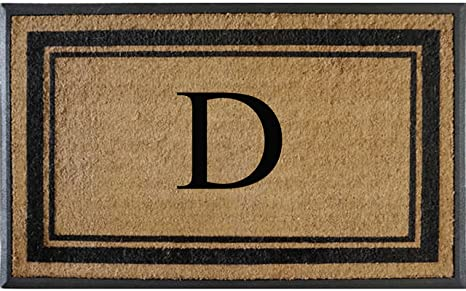 First Impressions Markham Border Double Doormat 30 X48 Garden Outdoor Amazon Com
