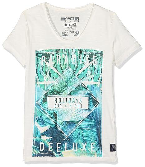 DeeLuxe Joke, Camiseta para Niños, Marfil (Off White), Años (Talla del Fabricante: 12): Amazon.es: Ropa y accesorios