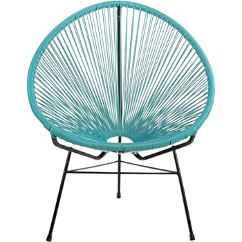 Amazon Com Innit Designs Acapulco Chair Turquoise Weave