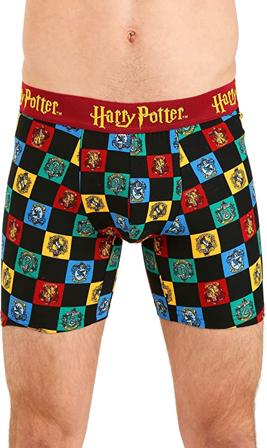 Harry Potter Icon Pattern Mens Boxer Briefs