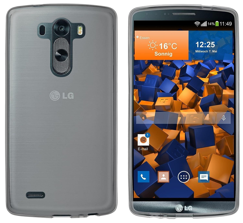 mumbi Schutzhülle für LG G3 Hülle HandyNow.de Z-LG-G3-TPU-Case-sw