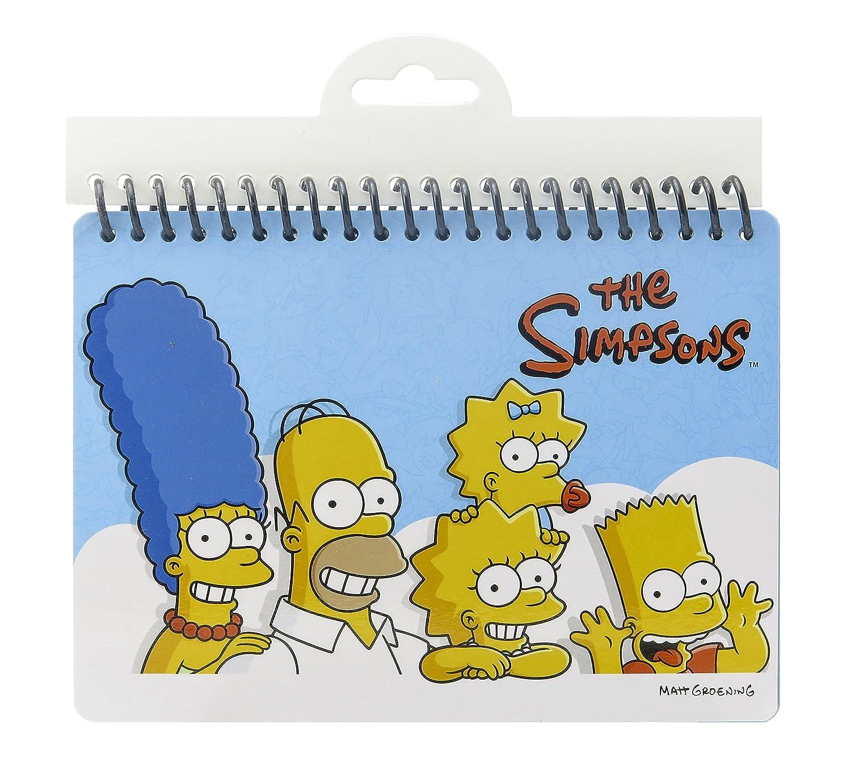 Fox The Simpsons Blank Guest Autograph-B Book Monogram International 27813
