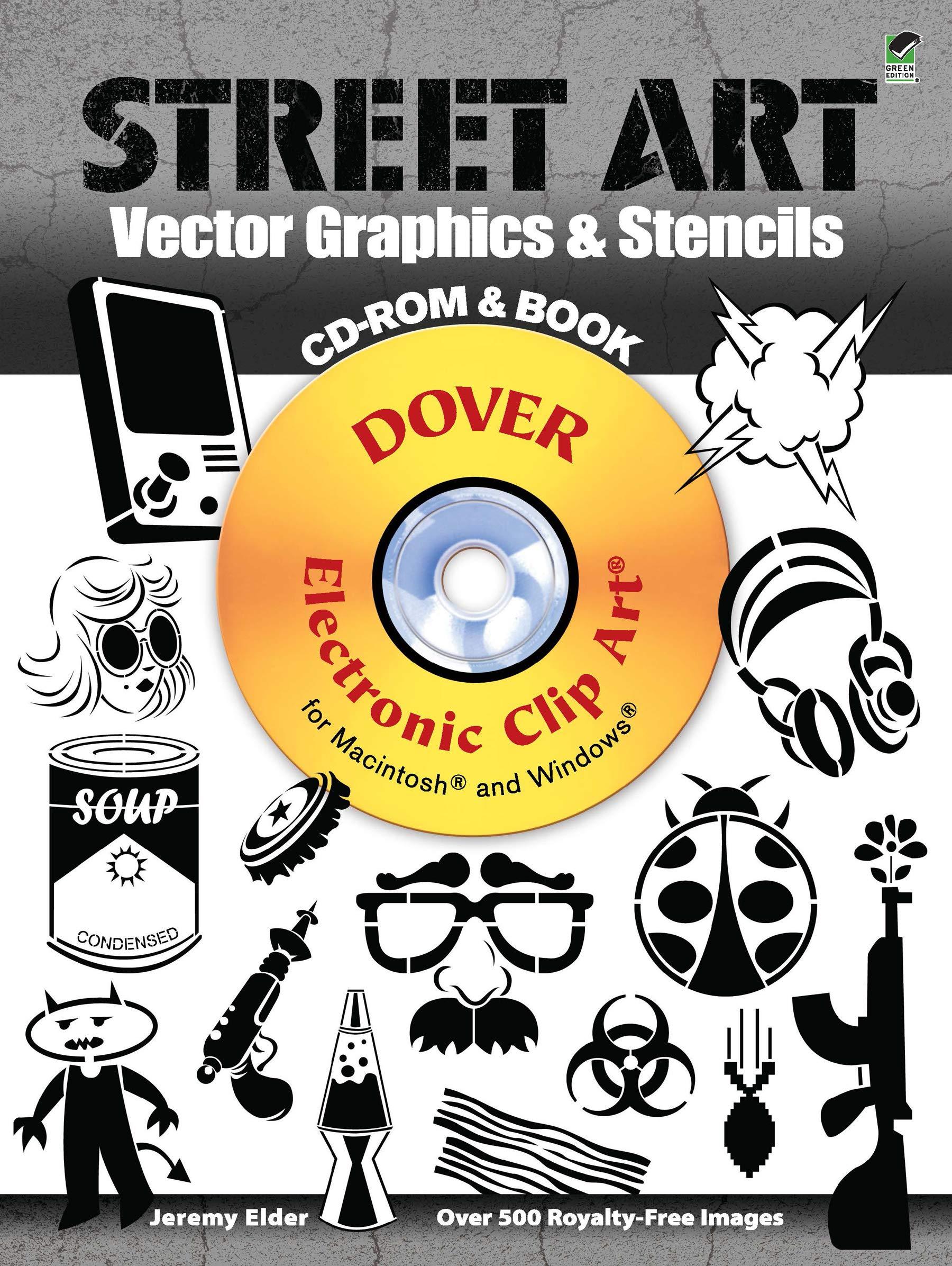 Street Art Vector Graphics & Stencils Dover Electronic Clip Art ...