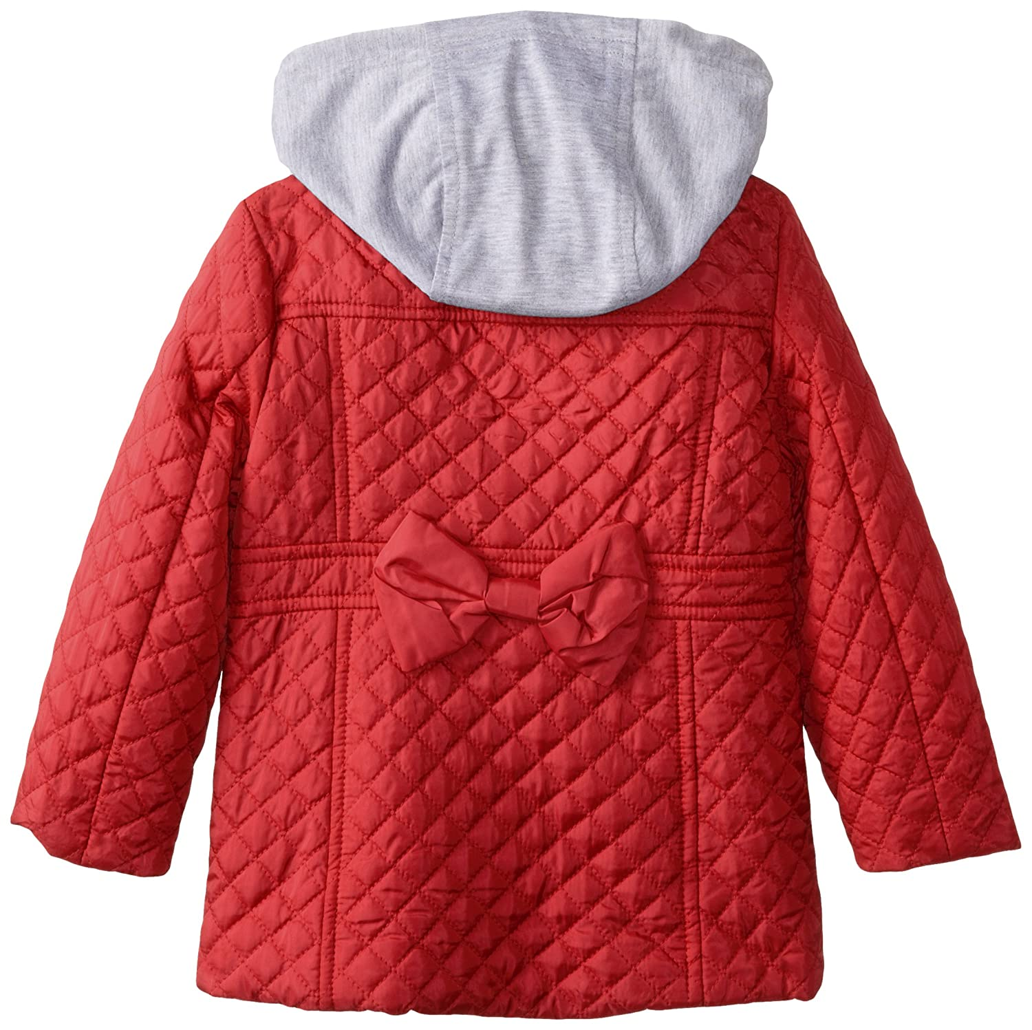 Amazon.com: Dollhouse Little Girls chaqueta acolchada con ...