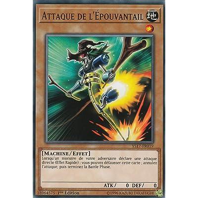"""Carte Yu-Gi-Oh! """"Attaque de l'Epouvantail"""" YS17-FR019 - VF/COMMUNE"""