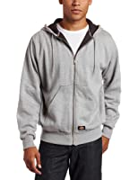 Dickies Men's Big & Tall Thermal-Lined Front-Zip Hooded Jacket